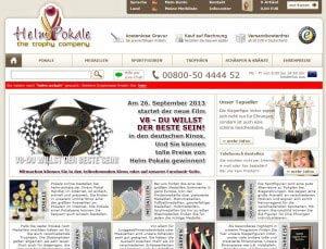 HelmPokale-Webseite